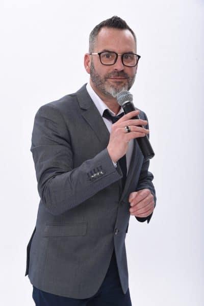 Photo Sébastien Galaup animateur événementiel