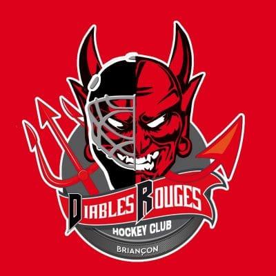logo-Les Diables rouges-Sébastien Galaup-presentateur sportif-Diables rouges-Briançon-hockey sur glace