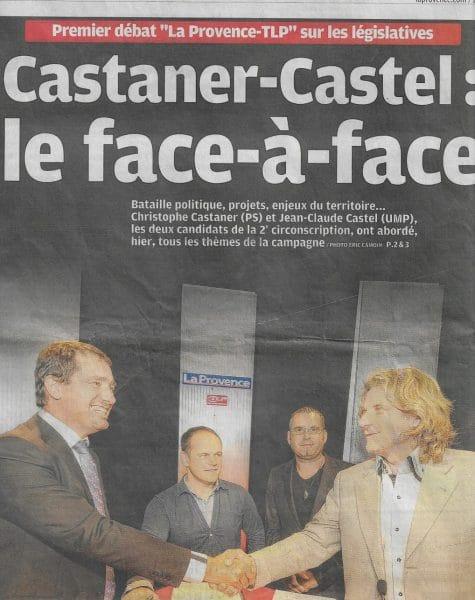 Christophe Castaner vs Castel