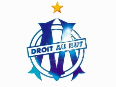 logo-Olympique de Marseille-Sébastien Galaup-presentateur sportif-football-Vélodrome