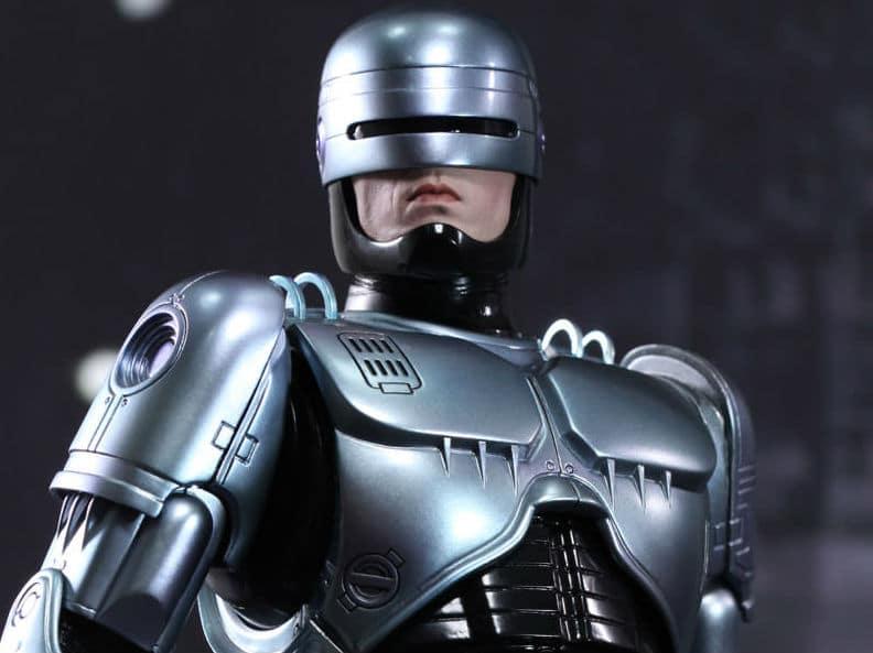 Robocop animateur micro