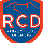 Logo-rugby club dignois-Sébastien Galaup-speaker sportif