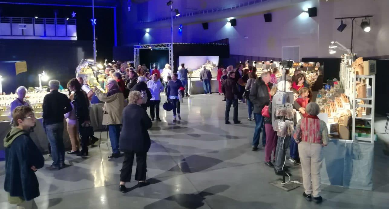 Le public de la foire aux santons