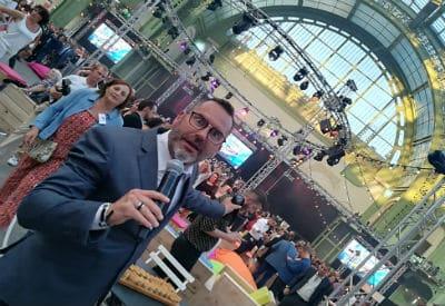 Sébastien Galaup-Grand Palais Paris 2018-accueil-fête-présentateur-événementiel