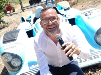 Sébastien Galaup speaker pour le sport automobile