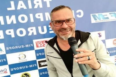 Sébastien Galaup-speaker sportif-trial-mondial-moto-championnat