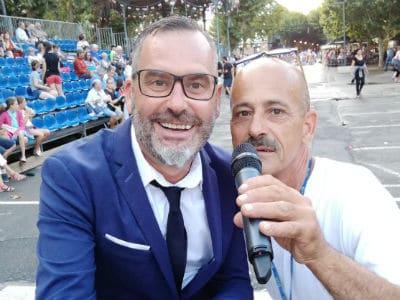 Sébastien Galaup-animateur événementiel-Corso Digne 2018-lavande-spectateur