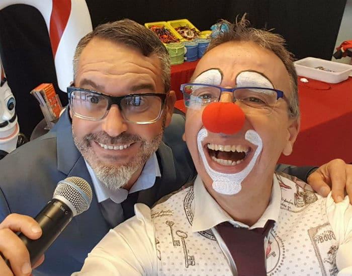 Le clown Augustin Foire aux santons