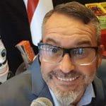 Sébastien Galaup-animation soirée entreprise-roue de la fortune-clown