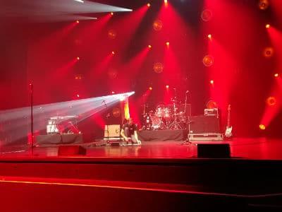 Répétitions-sonorisation-monsieur loyal-Sébastien Galaup-Olympia-music-hall-cabaret