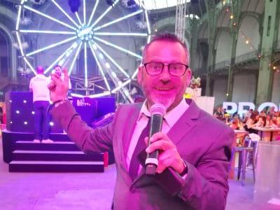 Sébastien Galaup-monsieur loyal-fête foraine-Grand Palais-grande roue