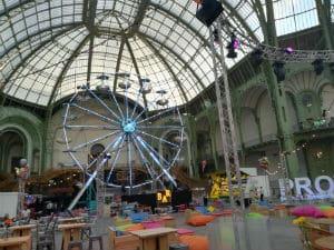 grande roue-Grand Palais-animation soirée entreprise-food truck-forains