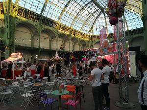 Grand Palais-animation soirée entreprise-terrasse-buffet-apéro