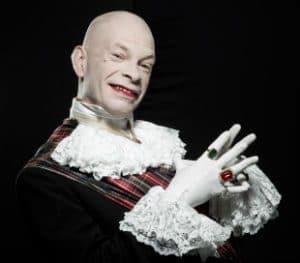 monsieur loyal-Calixte de Nigremont-célébrité