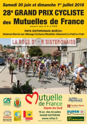 prospectus-course cycliste-Sébastien Galaup-speaker sportif-étapes