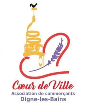 Logo-animation commerciale-association des commerçants-Digne-Coeur de Ville-centre ville-commerces
