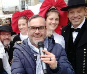 animateur événementiel-marché de Noël-Alsace