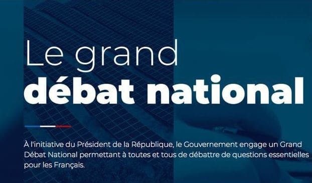Le Grand débat national-gouvernement-public