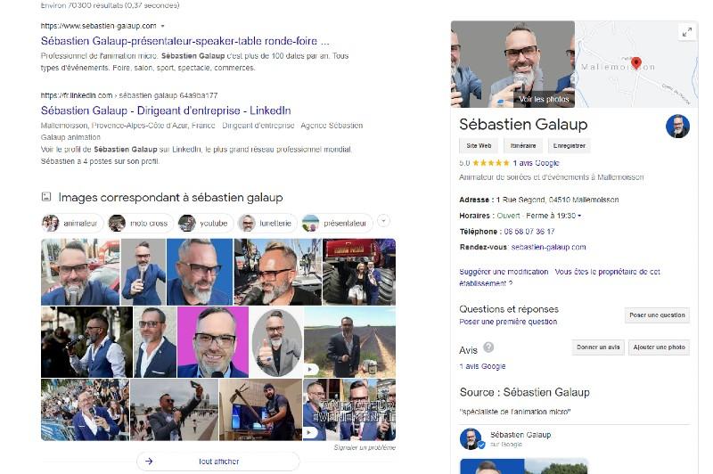 bon animateur micro-réputation-Internet-Google