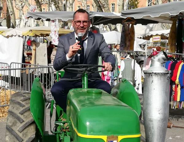 animateur de foire agricole-fête-champêtre