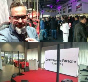 animateur événementiel-inauguration-soirée-Porsche