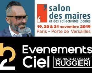 Sébastien Galaup-salon des maires de France-Ruggieri