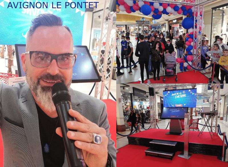 animation commerciale-Aushopping-Avignon Le Pontet