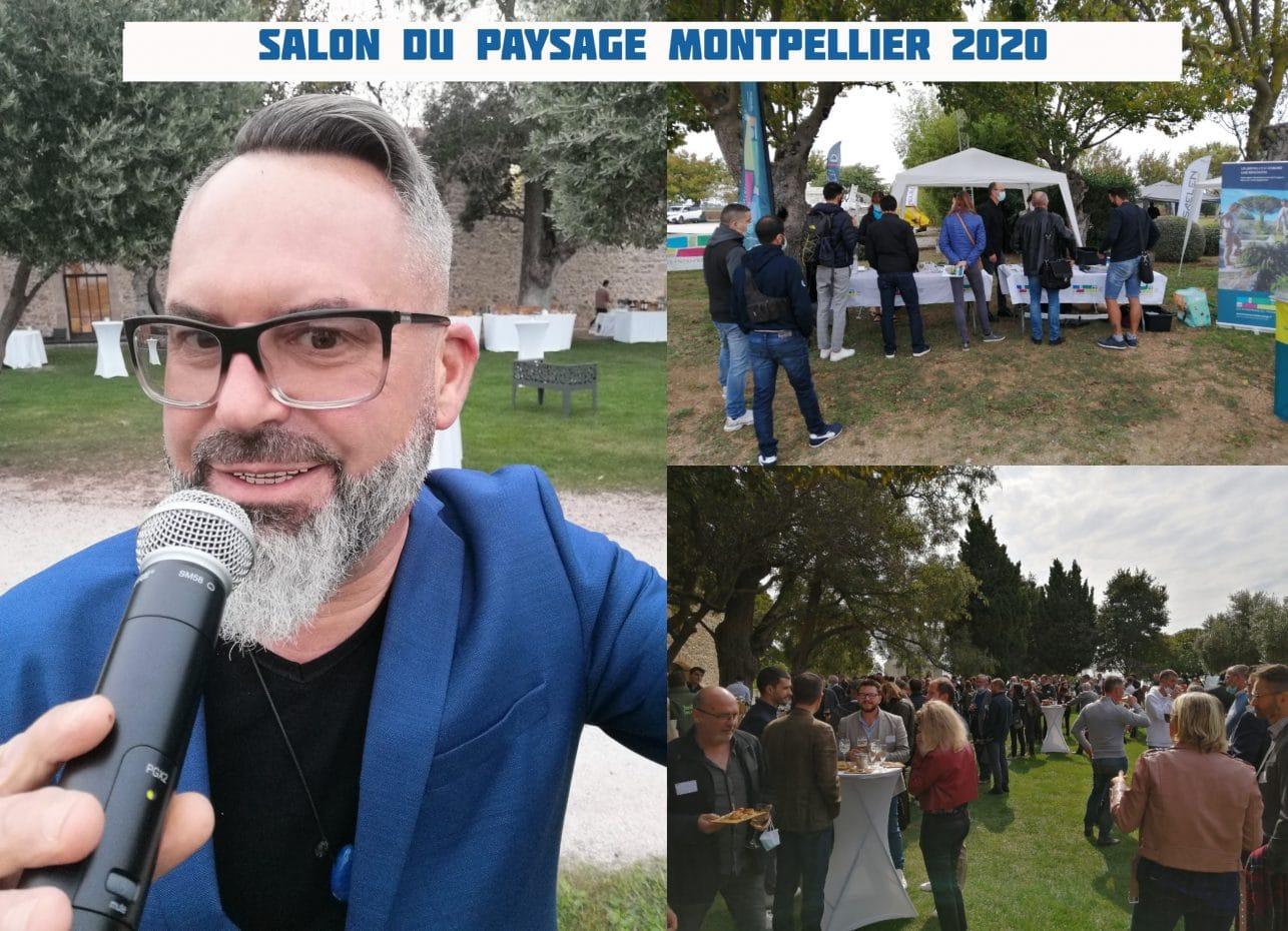 foire et salon-Montpellier-salon du paysage 2020-animation