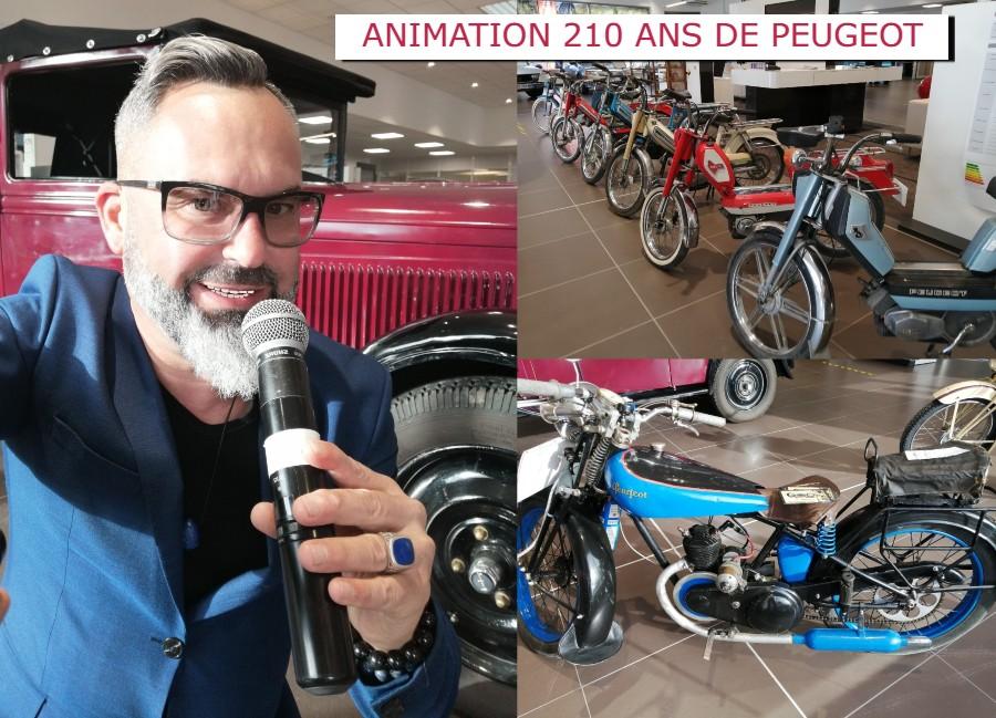 Sébastien Galaup-anniversaire-Peugeot-210 ans-historique