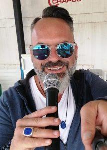speaker sportif-moto cross-championnat ligue-manches