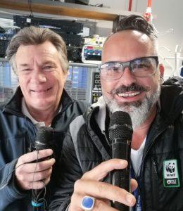 Camions décorés-Le Mans-speakers sportifs-commentaires-parade